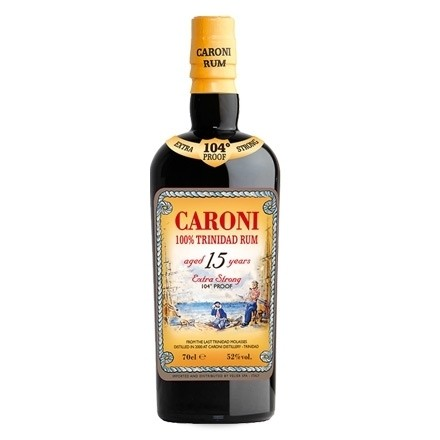 Rum 15 Anni Extra Strong 104 Proof Distilled 1998 Caroni-31